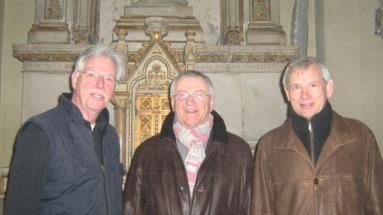 Desno Philipp Dieter stručni voditelj obnove katedrale 2011.