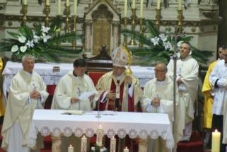 Msgr. Heribert August donator obnove katedrale