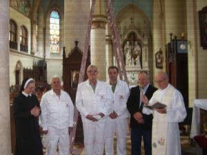 Obnova Katedrale, pocetni radovi