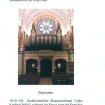 Liturgijski listić za goste iz Aachena